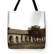 Mission San Juan Bautista San Benito County Circa 1905 Tote Bag