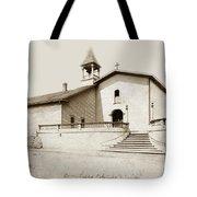 Mission San Luis Obispo Circa 1890 Tote Bag