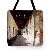 Mission San Miguel Tote Bag
