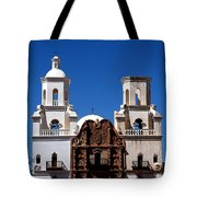 Mission San Xavier Del Bac Tote Bag