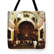 Mission San Xavier Del Bac Tote Bag