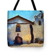 Mission Santa Ines Tote Bag