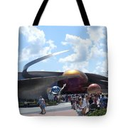 Mission Space Pavilion Tote Bag