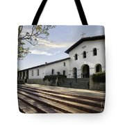 Mission Stairs Tote Bag