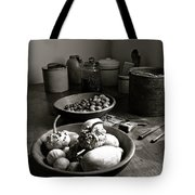Mission Still In Black And White Tote Bag