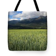 Mission Valley Wheat Tote Bag