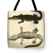 Mississippi Alligator Tote Bag