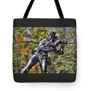 Mississippi At Gettysburg - Desperate Hand-to-hand Fighting No. 3 Tote Bag