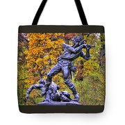 Mississippi At Gettysburg - Desperate Hand-to-hand Fighting No. 5 Tote Bag