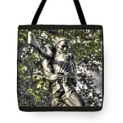 Mississippi At Gettysburg - The Rage Of Battle No. 2 Tote Bag