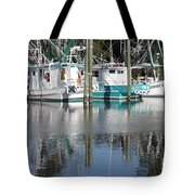 Mississippi Boats Tote Bag by Carol Groenen
