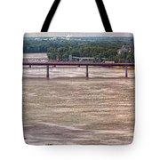 Mississippi River At I-72 Tote Bag