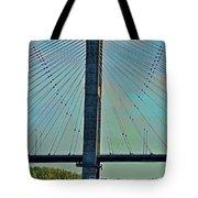 Mississippi River Bridge At Cape Girardeau Mo  Tote Bag