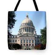 Mississippi State Capitol Downtown Jackson Tote Bag