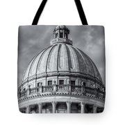 Mississippi State Capitol Viii Tote Bag by Clarence Holmes