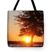 Mississippi Sunset 1 Tote Bag