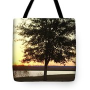 Mississippi Sunset 12 Tote Bag