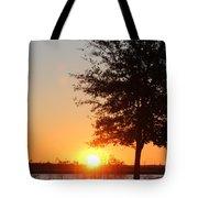 Mississippi Sunset 4 Tote Bag