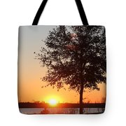 Mississippi Sunset 6 Tote Bag