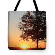Mississippi Sunset 7 Tote Bag