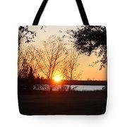 Mississippi Sunset 9 Tote Bag