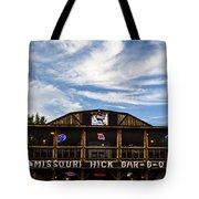 Missouri Hick Bbq Tote Bag