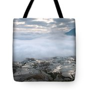 Mist And Cloud Tote Bag