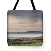 Mist In The Valley Tote Bag