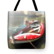 Mist On The Arno Tote Bag