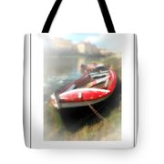 Mist On The Arno Poster Tote Bag