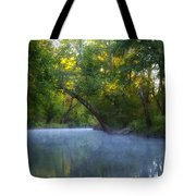 Mist On The Wissahickon Tote Bag