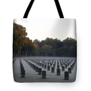 Mist Over Heroes Tote Bag