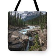 Mistaya River And Canyon Tote Bag