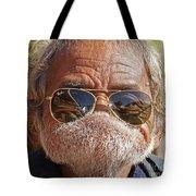 Mister Big Lip Tote Bag