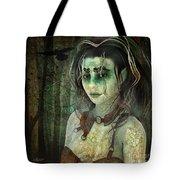 Mistress Of The Dark Woods Tote Bag