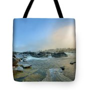 Mists Of Great Falls Tote Bag