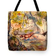 Misty Cascades Day Tote Bag