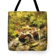 Misty Creek Tote Bag