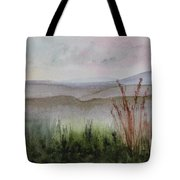 Misty Day In Nek Tote Bag