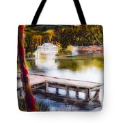 Misty Dream Tote Bag