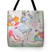 Misty Kay In Wonderland Tote Bag