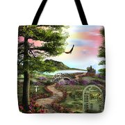 Misty Meadow Tote Bag