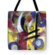 Misty Moon Tote Bag