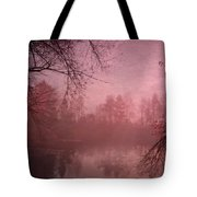 Misty Morning Light Tote Bag