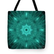 Misty Morning Star Bloom Tote Bag