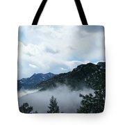 Misty Mountain Colorado Tote Bag