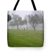 Ghostly Mist Tote Bag