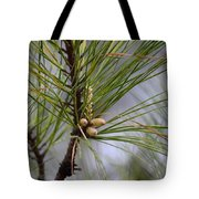 Misty Pines In Spring 2013 Tote Bag