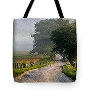 Misty Smoky Mountain Morning Tote Bag