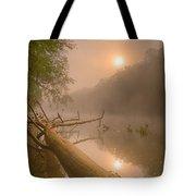 Misty Sun Tote Bag